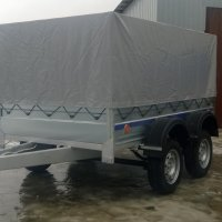 Cold galvanizing of trailers