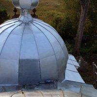 Restoration on zinc domes