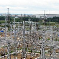 Zinc coating of metal structures in substations