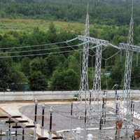 Protection of metal structures at substations in Kolpino